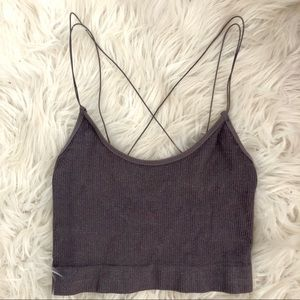 Urban Outfitters Sparkly Crop Top